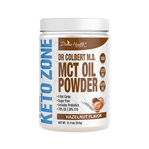 Dr. Colbert's Keto Zone MCT Oil Powder by Divine Health