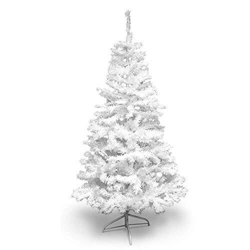 Sapin de Noël Artificiel Blanc Deluxe 210 cm