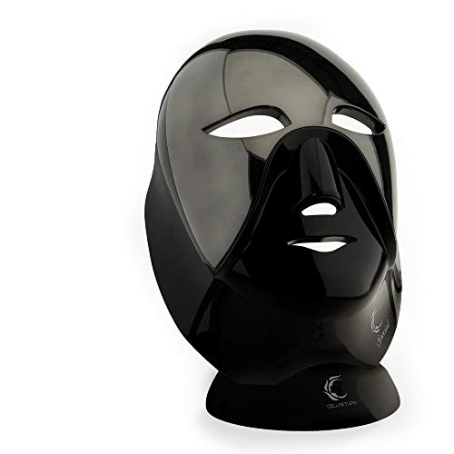 Read About Cellreturn LED Mask Black Edition Luxury Home Skin Care Light Therapy Wireless Device wit...