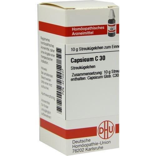 CAPSICUM C30 10g Globuli PZN:4210237