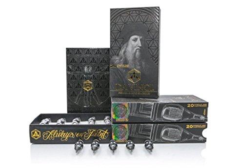 Bischop DA VINCI Premium Tattoo Patrone Nadeln Box von 20 Stück (1017M1C)