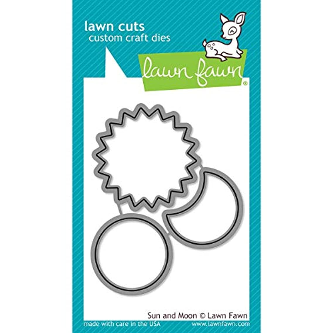 Lawn Fawn Custom Craft Dies - Sun And Moon dies