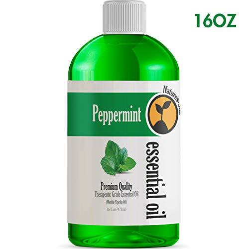 16oz - Bulk Size Peppermint Essential Oil (16 Ounce Bottle) - Therapeutic Grade Essential Oil - 16 Fl Oz - Amazon Vine