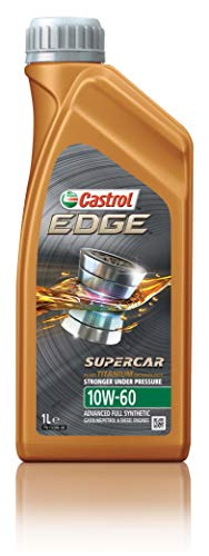 Castrol 12064-12PK 12064 Edge Supercar 10W-60 Advanced Full Synthetic Motor Oil, 1 L, 12 Pack $103.71