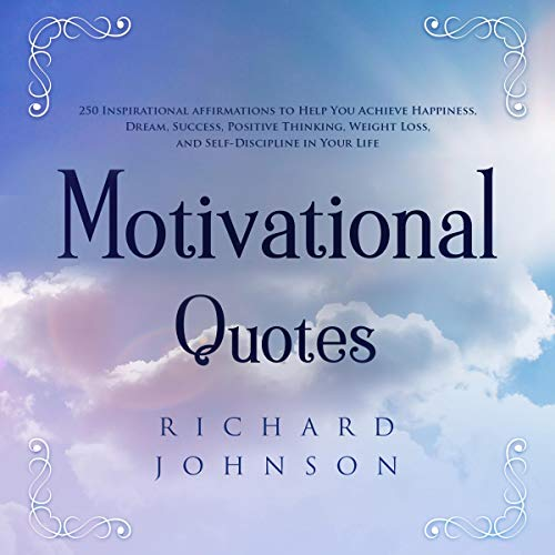 Motivational Quotes audiobook cover art