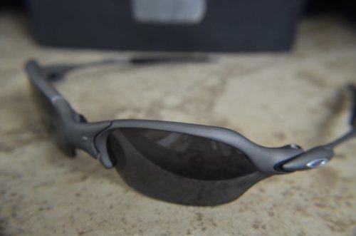 Oakley Romeo II X-Metal l Black Iridium Polarized