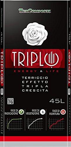 TERRICCIO TRIPLO 70L - EFFETTO TRIPLA CRESCITA