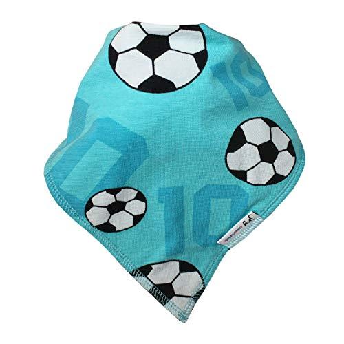JNY JNY Colourful Kids Baby Mädchen/Jungen Halstuch Verschiedene Designs zur Auswahl (FUSSBALL in türkis)