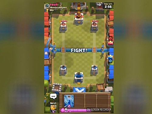 Clip: Mein erster Kampf in Clash Royale