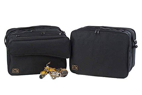 made4bikers: Borse interne per valigie moto adatte per modelli BMW R1200GS R1200 GS al 2013 - con tasca esterna rimovibile