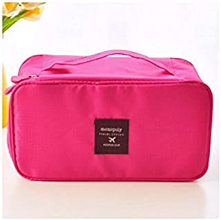 Polykor Fashion The Lady Stylish Bag Is Packed With Portable Waterproof Makeup Bag(Pink)