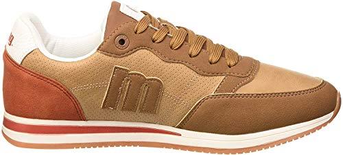 MTNG Attitude Herren 84086 Sneakers, Braun (Cato Cuero/Nylon Cuero C49025), 43 EU