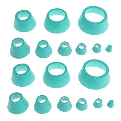 yotijar Set Cones Filters Cap para Matraces Repuestos de Cortacésped de Laboratorio