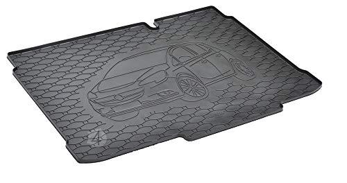 Passgenau Kofferraumwanne geeignet für OPEL Corsa D/E ab 2006-2019 ideal angepasst schwarz Kofferraummatte