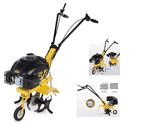 petit un compact Motoculteur POWERPLUS 10263 10263-Motoculteur thermique-2200W / 140 CC-Poignée de moteur à 4 temps…