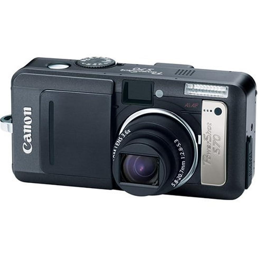 主に肌寒い迫害Canon PowerShot S70 7.1MP Digital Camera with 3.6x Optical Zoom [並行輸入品]
