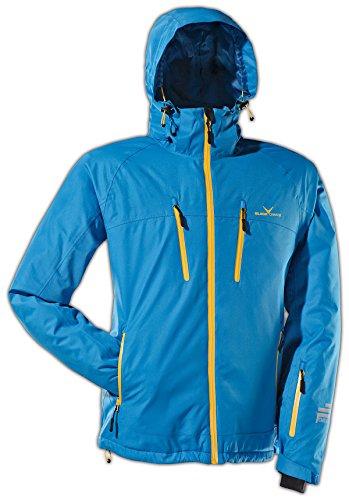 Black Crevice Herren Ski- und Snowboardjacke, blau/gelb, 54, BCR251003