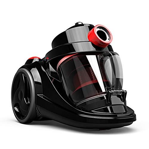Draagbare stofzuiger/stofzuiger Domestic stofzuiger, pinhole-filter, vermogen 2000 W, diameter 32 mm, cycloonfilter/geen verbruiksmateriaal, 4,5 m (zwart)