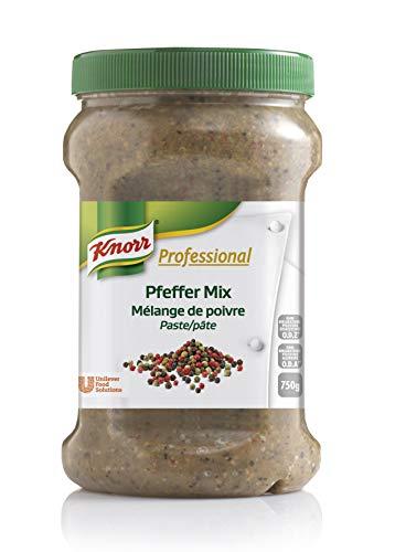 Knorr Professional Würzpaste Pfeffer Mix (natürlicher Geschmack, immer einsatzbereit) 1er Pack (1 x 750g)