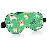 Máscara de sueño verde perro pata raza máscara de ojo para dormir perro verde pata razaMáscara de dormir máscara de ojo para dormir para dormir