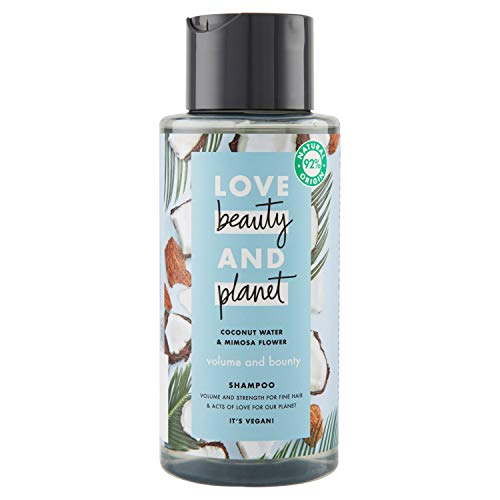 Love Beauty and Planet, Shampoo - 3 x 400ml (gesamt: 1200 ml)