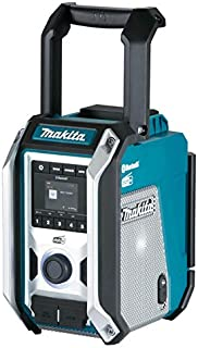 Makita DMR115 10.8V / 12V Max / 14.4V / 18V Li-ion CXT LXT DAB/DAB+ Job Site Radio with Bluetooth - Batteries and Charger ...