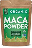 Organic Peruvian Maca Root Powder | Perfect for Smoothies, Baking, Energy | Raw From Peru | Non-GMO, USDA Organic | 16oz Resealable Kraft Bag (1 Pound) | by FGO