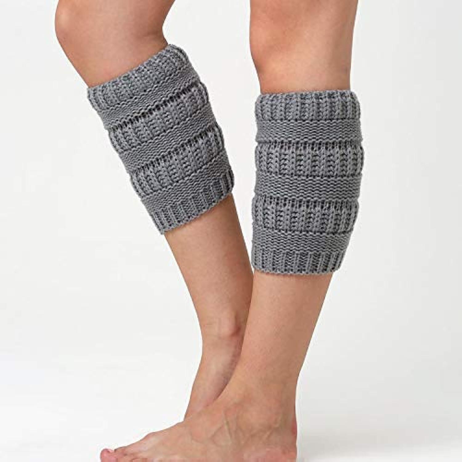 VEA-DE Warm Leg Sets Socken, Europa und die Vereinigten Staaten Staaten Staaten gestrickte Leggings Kniesätze Wolle warme Stiefel Set Bein Socken (Farbe  hellgrau) B07NMPDFQV  Britisches Temperament b1c2a5