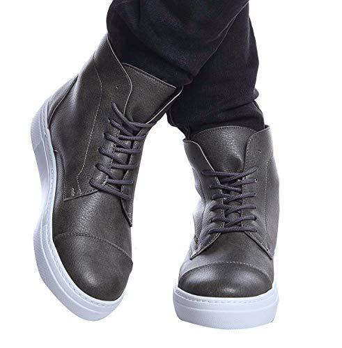 Leif Nelson Herren Schuhe Klassische Stiefel Freizeitschuhe Boots Elegante Winterschuhe Männer Sneakers LN158; 40, AN