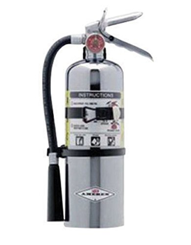 Amerex 500TC, 5lb ABC Dry Chemical Class A B C Chrome Fire Extinguisher