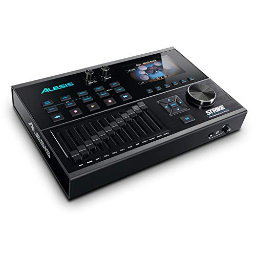 Alesis High Performance Set Module with 4.3-Inch Color Display, 136 Drum Kits, 1,800 Instruments and 45,000 Samples (STRIKEMODULEBUN)