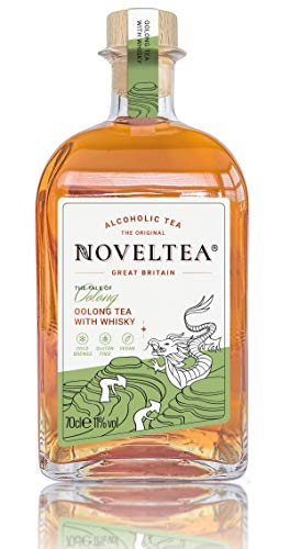 NOVELTEA - Alkoholischer Tee - Die Höhle der Löwen - Oolong Tee mit Whisky 700ml, 11%