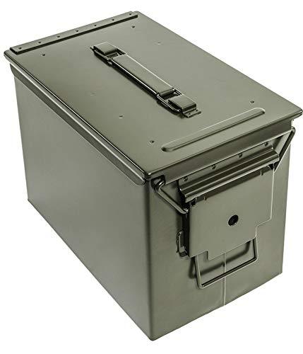 ARLT Caja de almacenamiento protector de seguridad de la batería de la batería de Lipo a prueba de incendios RC Modelo de protección de la explosión Caja de hierro a prueba de mano Caja de sello imper
