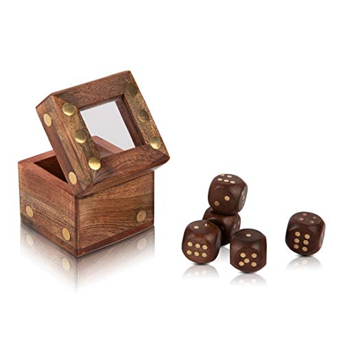 Handcrafted Wooden Dice Box