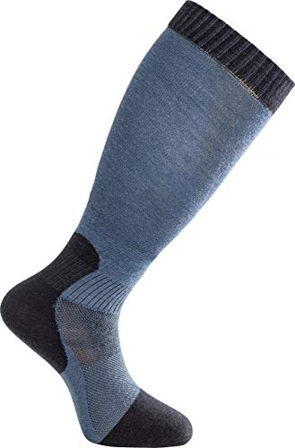 Woolpower Skilled Liner Knee-High Socken Dark Navy/Nordic Blue Schuhgröße EU 40-44 2020