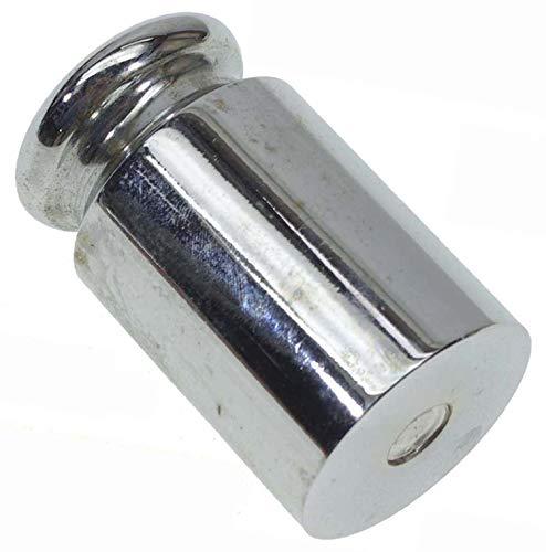 分銅 単体 100g 0.1kg サイズ 約 21.5mm x 40mm はかり 秤用 測定器 おもり 天秤 てんびん