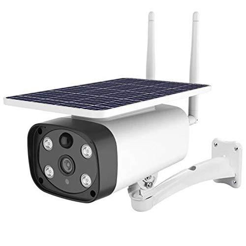 Telecamera di sicurezza mobile 4G LTE, telecamera wireless solare 1080P con visione notturna IR PIR Motion Detection 2-Way Audio IP67 resistente alle intemperie