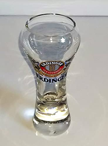 Erdinger - Bicchieri da liquore, da grappa, da birra bianca, misura piccola, 2 cl, Rofu, Action e Kik