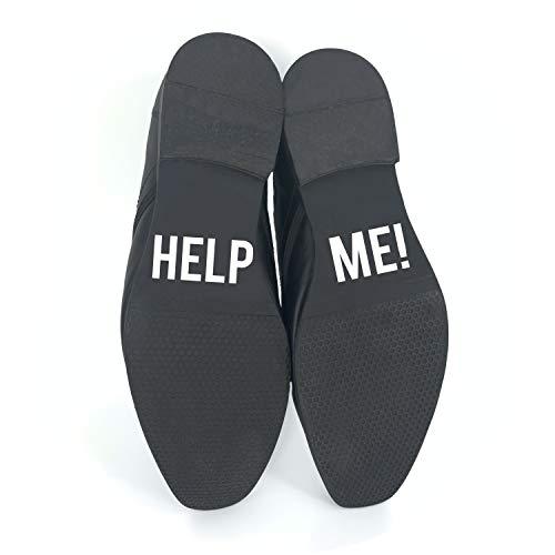P024 - Pegatinas para zapatos de boda, diseño con texto