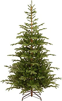National Tree Company  Feel Real  Artificial Christmas Norwegian Spruce Tree-7.5 ft