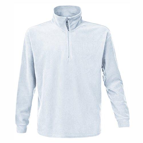 JAMES & NICHOLSON Veste ou Sweat Polaire Lourd zippée (XL, Blanc)