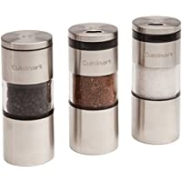 Cuisinart CSS-33 Magnetic Grilling Spice Set (Silver)