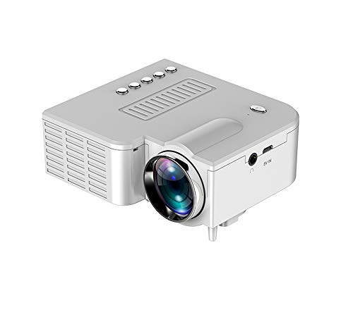 Projector, draagbare LED mini video-projector voor home theater 500 lumen te ondersteunen HD 4K LED projector 1920x1080,1