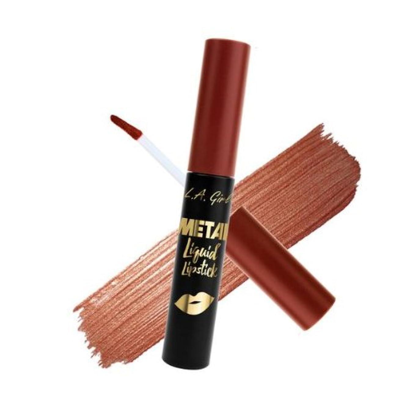 増幅器カポックホイールL.A. GIRL Metal Liquid Lipstick - Opulent (並行輸入品)