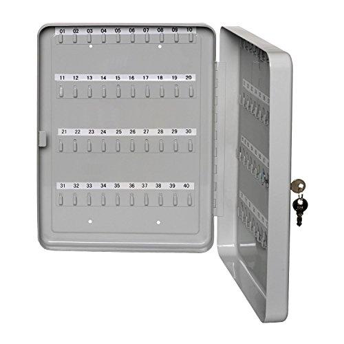 Alco-Albert 893 - Cassetta per 80 chiavi, 370 x 280 x 60 mm