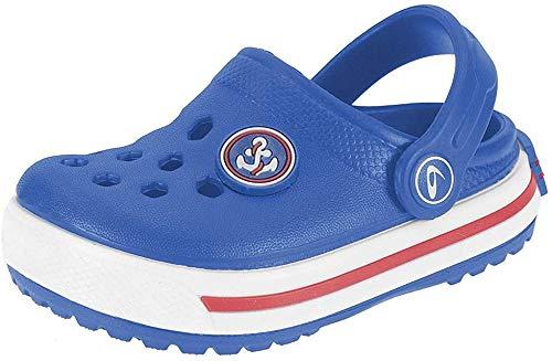 Beppi Clog s20 Unisex Baby Clog, Blau - blau - Größe: 20 EU