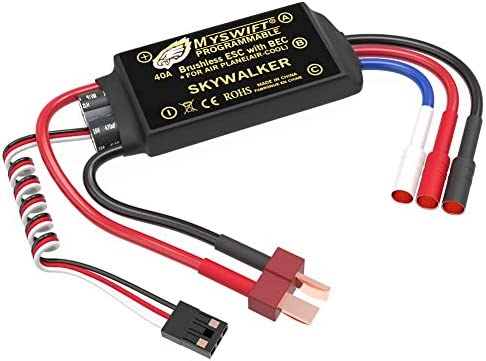 ESC 40A Brushless UBEC Electric 2 3S Speed Controller 3A Skywalker with T Plug 3 5mm Bullet product image