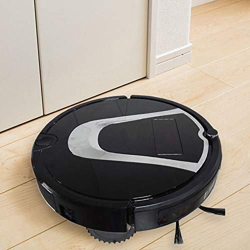 TC-750 Smart Stofzuiger Touch Display Huishoudelijke Sweeping Cleaning Robot met Afstandsbediening (Zwart) Wit (Kleur : Goud)