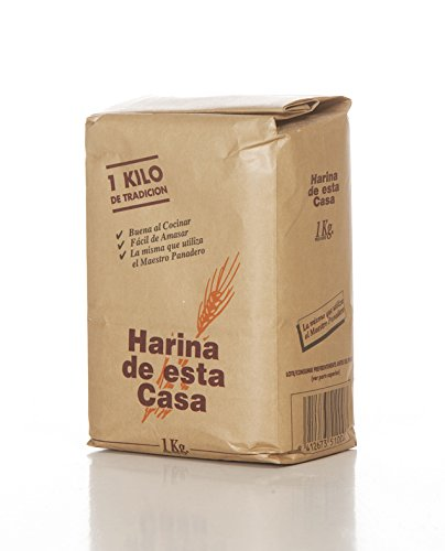 Harina de esta Casa envase de 1 kg.-Harina Tradicional Zamorana