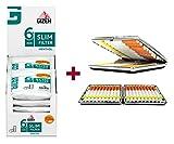 SweedZ Gizeh Slim Filter Menthol 6mm 10x120 + Gratis Etui